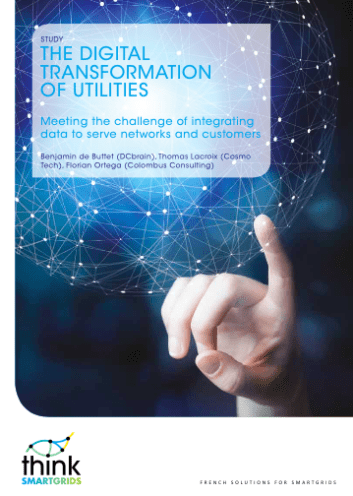 the digital tranSformation of utilitieS meeting the challenge of integrating data to serve networks and customers